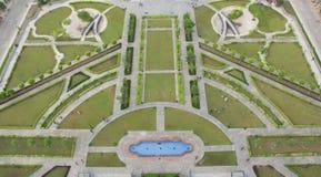 Opinión superior de la ciudad de Bahria de la torre Eiffel fotografía de archivo libre de regalías