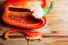 Opinión superior de la comida picante Imagenes de archivo