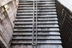 Opinión superior de la escalera y del starcase fotos de archivo