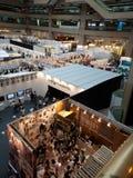 Opinión superior de la exposición de 2010 diseñadores jovenes Imagen de archivo libre de regalías