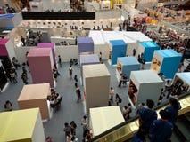 Opinión superior de la exposición de 2010 diseñadores jovenes Fotos de archivo libres de regalías