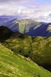 Opinión superior de la montaña Fotografía de archivo libre de regalías