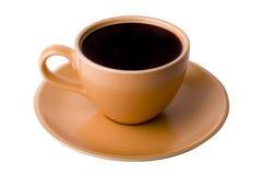 Opinión superior de la taza de Coffe Imágenes de archivo libres de regalías