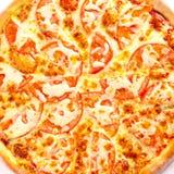 Opinión superior de Margarita de la pizza Fotos de archivo