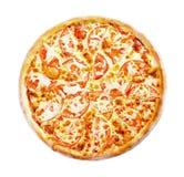 Opinión superior de Margarita de la pizza Fotos de archivo libres de regalías