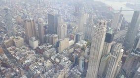 Opinión superior de New York City Foto de archivo