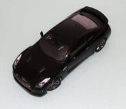 Opinión superior de Nissan GT-R Fotos de archivo libres de regalías