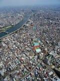 Opinión superior de Tokio Imágenes de archivo libres de regalías