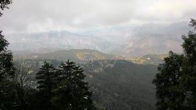 Opinión superior del dalhousie de Himachal Pradesh Imagen de archivo libre de regalías