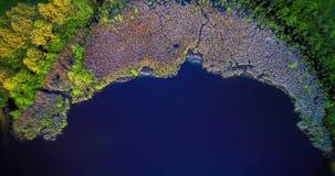 Opinión superior del lago Imagenes de archivo