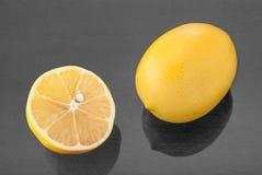 Opinión superior del limón Imagen de archivo