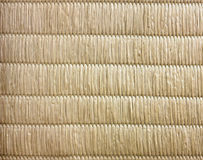 Opinión superior el japonés Mat Texture Background No Gradient L de Tatami Fotografía de archivo