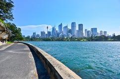 Opinión Sydney Harbor imagen de archivo