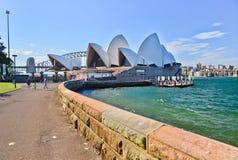 Opinión Sydney Harbor Fotos de archivo