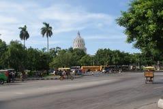 Opinión típica de la calle en La Habana Imagen de archivo