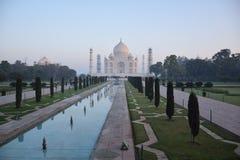 Opinión Taj Mahal, Agra, Uttar Pradesh, la India Imagen de archivo libre de regalías