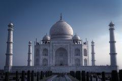 Opinión Taj Mahal de los jardines Fotos de archivo libres de regalías