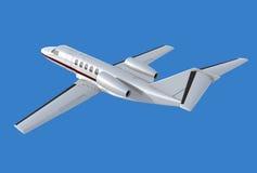 Opinión trasera de la citación cj4 de Cessna Fotografía de archivo libre de regalías