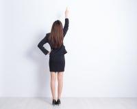 Opinión trasera la mujer de negocios Fotografía de archivo