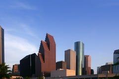 Opinión urbana de los edificios céntricos del rascacielos de la ciudad Imagen de archivo