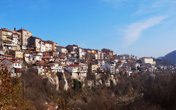 Opinión Veliko Turnovo de la ciudad Fotos de archivo