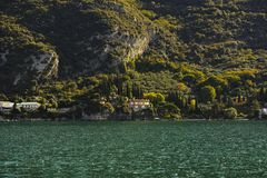 Opinión verde del mounain, acuerdo Foto de archivo