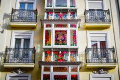 Opinión Vitoria-Gasteiz, España de la ciudad fotografía de archivo