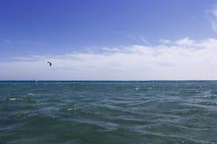 Opinión y cometas del mar Fotos de archivo libres de regalías