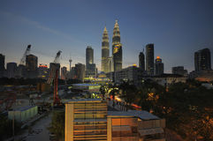 Opiniónes en Kuala Lumpur City Centre (KLCC) Fotos de archivo