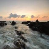 Opiniões bonitas do seascape no mar chinês sul Fotografia de Stock Royalty Free