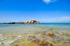 Opiniões bonitas do seascape no mar chinês sul Imagem de Stock Royalty Free