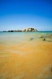 Opiniões bonitas do seascape no mar chinês sul Fotografia de Stock