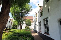 Opiniões da cidade de Bruges (Bélgica) Fotografia de Stock Royalty Free
