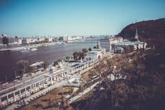 Opiniões da cidade de Budapest Imagens de Stock Royalty Free