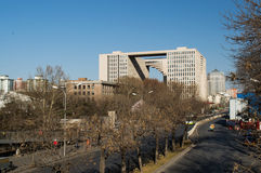 Opiniões da cidade do Pequim Fotos de Stock
