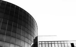 Opiniões da cidade em preto e branco Imagens de Stock