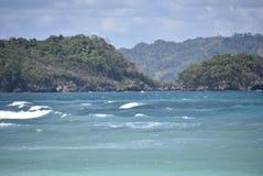 Opiniões da ilha de Boracay fotos de stock royalty free