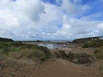 Opiniões da praia Fotos de Stock Royalty Free