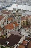 Opiniões de Istambul Fotografia de Stock Royalty Free