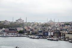 Opiniões de Istambul Imagens de Stock Royalty Free