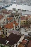 Opiniões de Istambul Foto de Stock