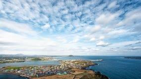 Opiniões de Jeju Imagem de Stock Royalty Free