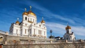 Opiniões de Moscou Fotografia de Stock Royalty Free