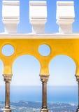 Opiniões do palácio da Dinamarca Pena Imagem de Stock Royalty Free