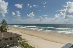 Opiniões ensolaradas da praia Foto de Stock Royalty Free