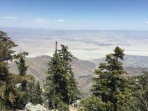Opiniões impressionantes do deserto Fotografia de Stock Royalty Free