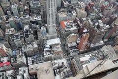 Opini?n de Ariel sobre Manhattan Nueva York EE.UU. fotografía de archivo
