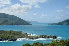 Opini?n esc?nica del Caribe de British Virgin Islands imagen de archivo libre de regalías