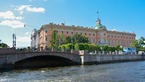 Opini?n esc?nica del tiempo de verano de Rusia, St Petersburg imagen de archivo