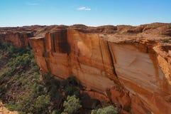 opini?n los reyes Canyon, parque nacional de Watarrka, Territorio del Norte, Australia foto de archivo libre de regalías